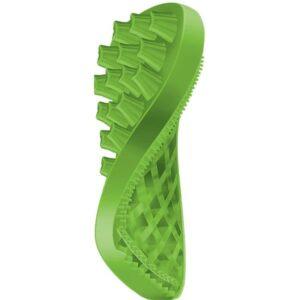 PET + ME zelena silikonska krtača